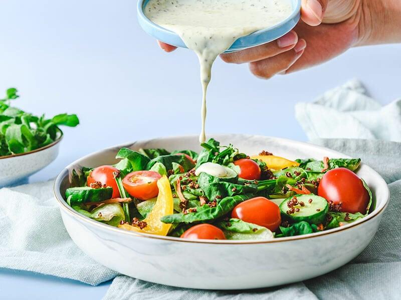 Yogurt Make Salad